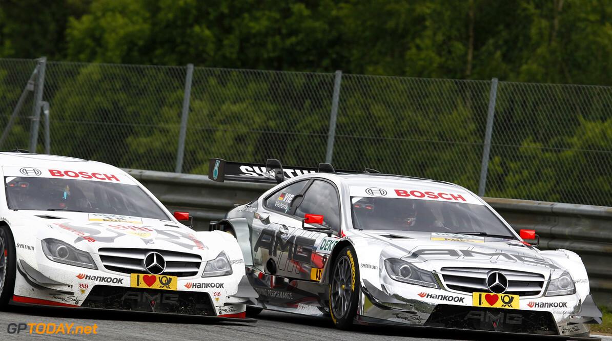 www.hoch-zwei.net Motorsports / DTM: german touring cars championship 2013, 3. Race at Spielberg, #18 Pascal Wehrlein (GER, Mercedes AMG DTM-Team / DTM Mercedes AMG C-Coupe), #9 Christian Vietoris (GER, Mercedes AMG DTM-Team / DTM Mercedes AMG C-Coupe),  *** Local Caption *** +++ www.hoch-zwei.net +++ copyright: HOCH ZWEI / Juergen Tap +++ Motorsports / DTM: german touring cars championship 2013 HOCH ZWEI / Juergen Tap Spielberg Austria  Motorsport - motor sport Partner01 Weltmeisterschaft - world champ DTM - Deutsche Tourenwagen Meis Meisterschaft - championship Rennen - race Fahrszene - race action Rennen - race Aktion - action Rennszene Fahraufnahme Fahraufnahme faehrt Aktion - action Aktion - action