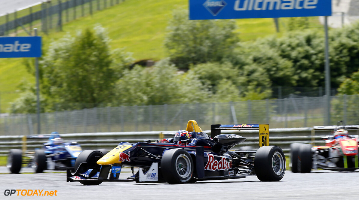 FIA Formula 3 European Championship, round 5, race 3, Red Bull R 51 Daniil Kvyat (RUS, Carlin, Dallara F312 Volkswagen), FIA Formula 3 European Championship, round 5, race 3, Red Bull Ring Spielberg (A) - 31. May - 2. June 2013 *** Local Caption *** Copyright (c) FIA Formula 3 European Championship / Thomas Suer FIA Formula 3 European Championship, round 5, race 3, Spielberg (A) Thomas Suer Spielberg Austria