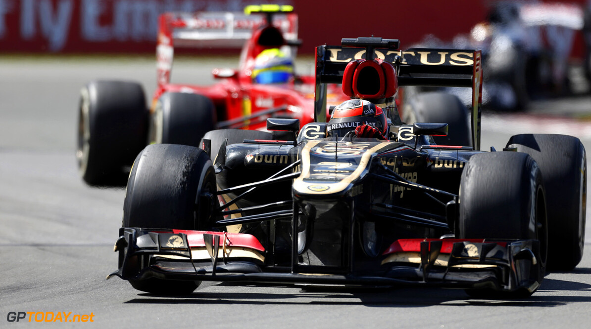 Ferrari and Lotus top overtaking statistics so far