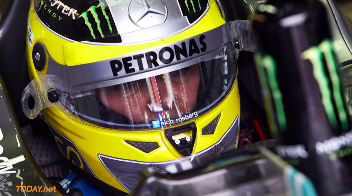 FP2: Nico Rosberg on top as Massa crashes again