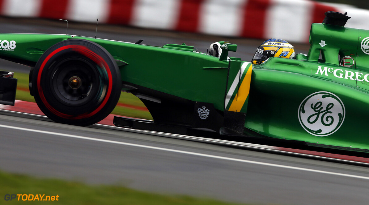Pic 'waiting' for signed 2014 Caterham-Renault contract