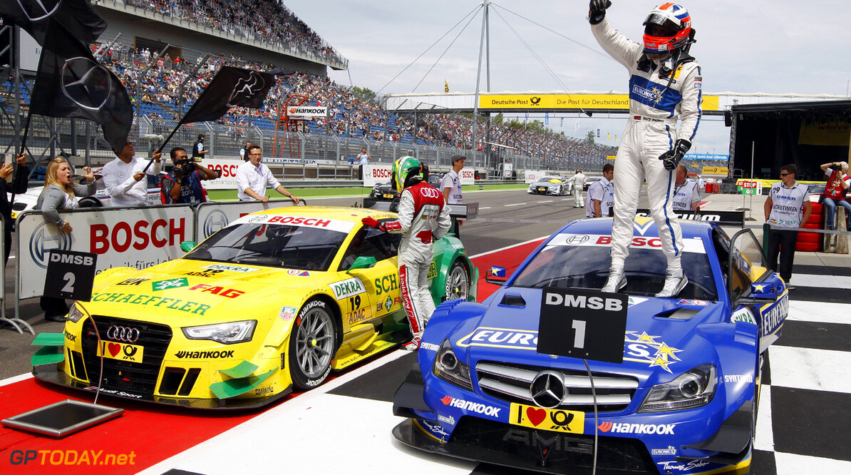 19 Mike Rockenfeller (D), Audi Sport Team Phoenix, Audi RS 5 DTM, 3 Gary Paffett (GB), HWA, DTM Mercedes AMG C-Coupe