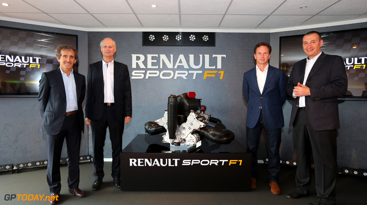 MOTORSPORT - F1 2013 -  RENAULT SPORT F1 POWER UNIT 2014 REVEAL - LE BOURGET -  21/06/2013 - PHOTO : ALEXANDRE GUILLAUMOT / DPPI - 