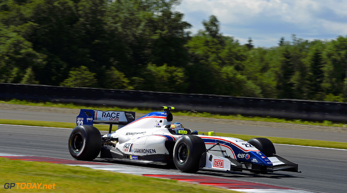 MOTORSPORT -  WORLD SERIES BY RENAULT 2013  - MOSCOW RACEWAY (RUS) - 21 TO 23/06/2013 - PHOTO ERIC VARGIOLU / DPPI - 22 LAINE MATIAS (FIN) - P1 MOTORSPORT - FORMULE RENAULT 3.5 - ACTION AUTO - WORLD SERIES RENAULT MOSCOW RACEWAY 2013 ERIC VARGIOLU MOSCOU RUSSIA  Auto Car CHAMPIONNAT Europe FORMULES MOSCOU Motorsport RENAULT SPORT RUSSIE series Sport VOITURES WORLD WSR