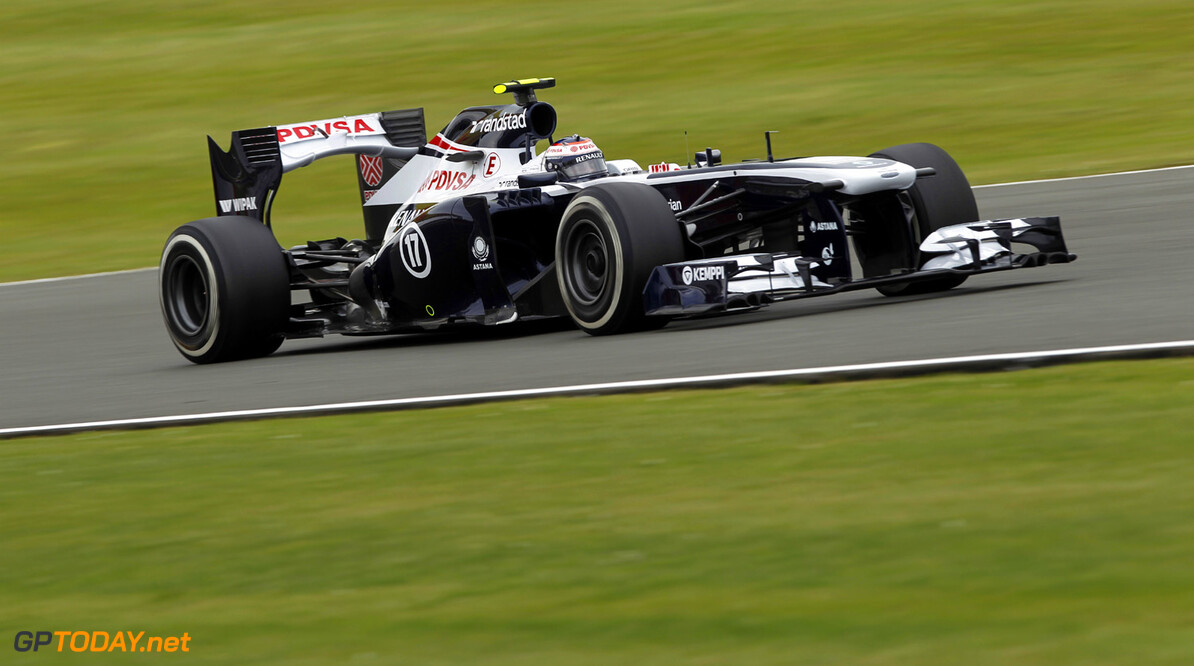 2013 British Grand Prix - Friday Silverstone, Northamptonshire, England.28th June 2013. Valtteri Bottas, Williams FW35 Renault, Action.