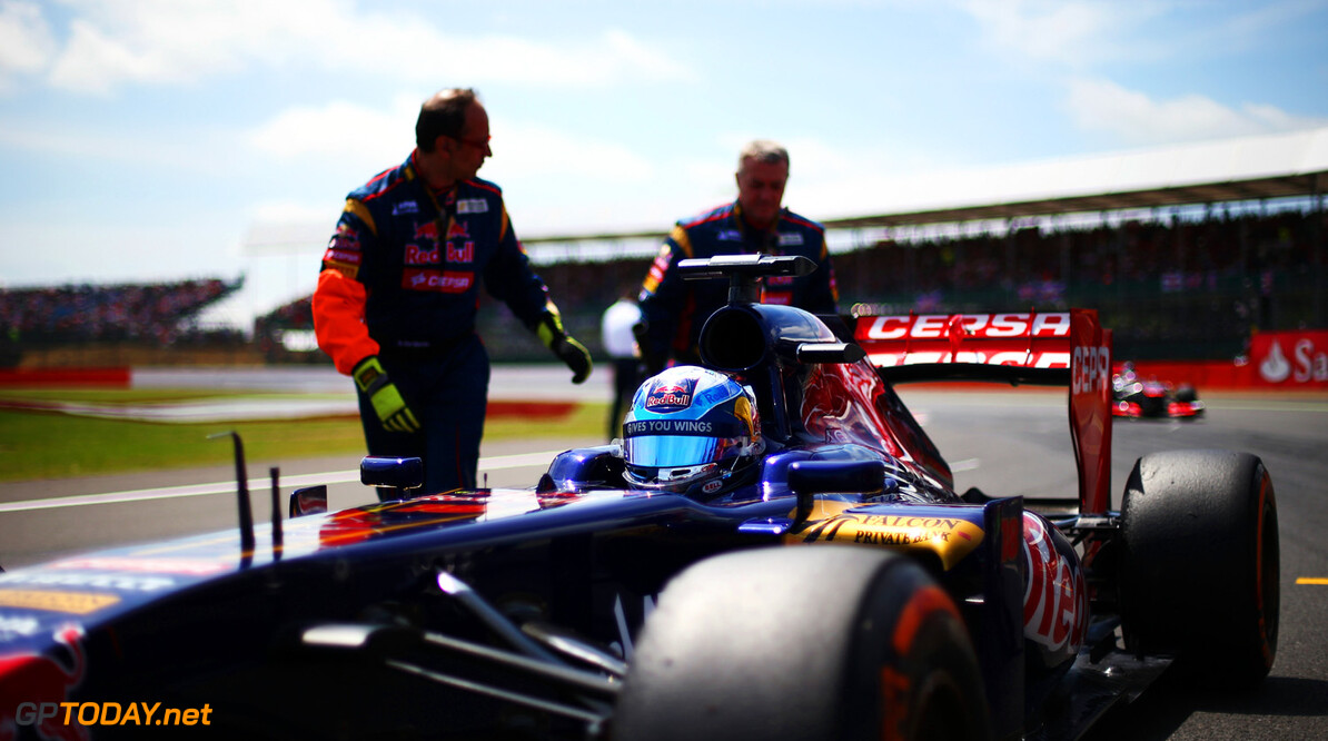 163377786KR00202_F1_Grand_P NORTHAMPTON, ENGLAND - JUNE 30:  Jean-Eric Vergne of France and Scuderia Toro Rosso arrives on the grid before the British Formula One Grand Prix at Silverstone Circuit on June 30, 2013 in Northampton, England.  (Photo by Paul Gilham/Getty Images) *** Local Caption *** Jean-Eric Vergne F1 Grand Prix of Great Britain - Race Paul Gilham Northampton United Kingdom  Formula One Racing formula 1 Auto Racing Formula 1 Grand Prix of Great B British Formula One Grand Prix Formula One Grand Prix