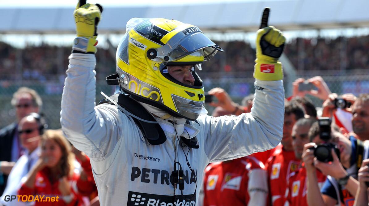 """Rosberg: """"Volgend jaar Red Bull Racing uitdagen"""""""