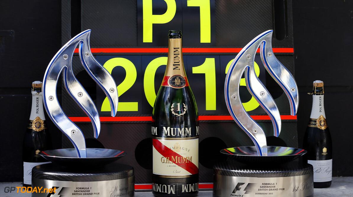 Trofee voor meeste pole positions ingevoerd voor 2014