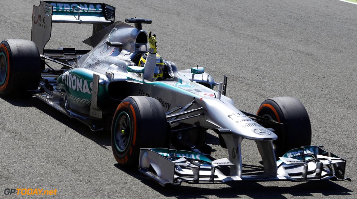 'Vooruitgang Mercedes na geheime test geen toeval'