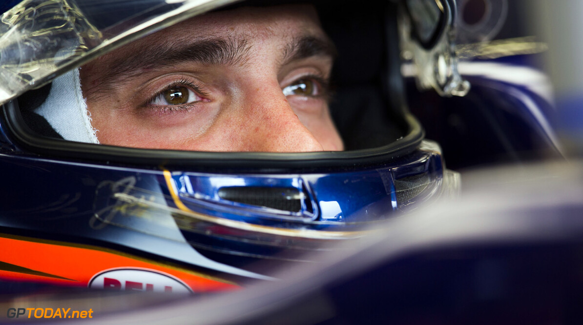 163377764KR00136_F1_Grand_P NORTHAMPTON, ENGLAND - JUNE 28:  Jean-Eric Vergne of France and Scuderia Toro Rosso prepares to drive during practice for the British Formula One Grand Prix at Silverstone Circuit on June 28, 2013 in Northampton, England.  (Photo by Peter Fox/Getty Images) *** Local Caption *** Jean-Eric Vergne F1 Grand Prix of Great Britain - Practice Peter Fox Northampton United Kingdom  Formula One Racing formula 1 Auto Racing Formula 1 Grand Prix of Great B British Formula One Grand Prix Formula One Grand Prix