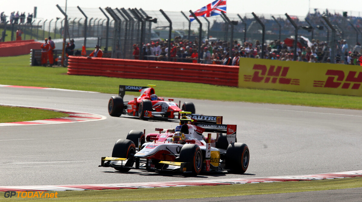 2013 GP2 Series. Round 5. Silverstone, Northamptonshire, England. 30th June. Sunday Race. Daniel Abt (GER, ART Grand Prix). Action.  World Copyright: Jakob Ebrey/GP2 Series Media Service. Ref: AD8T6272
