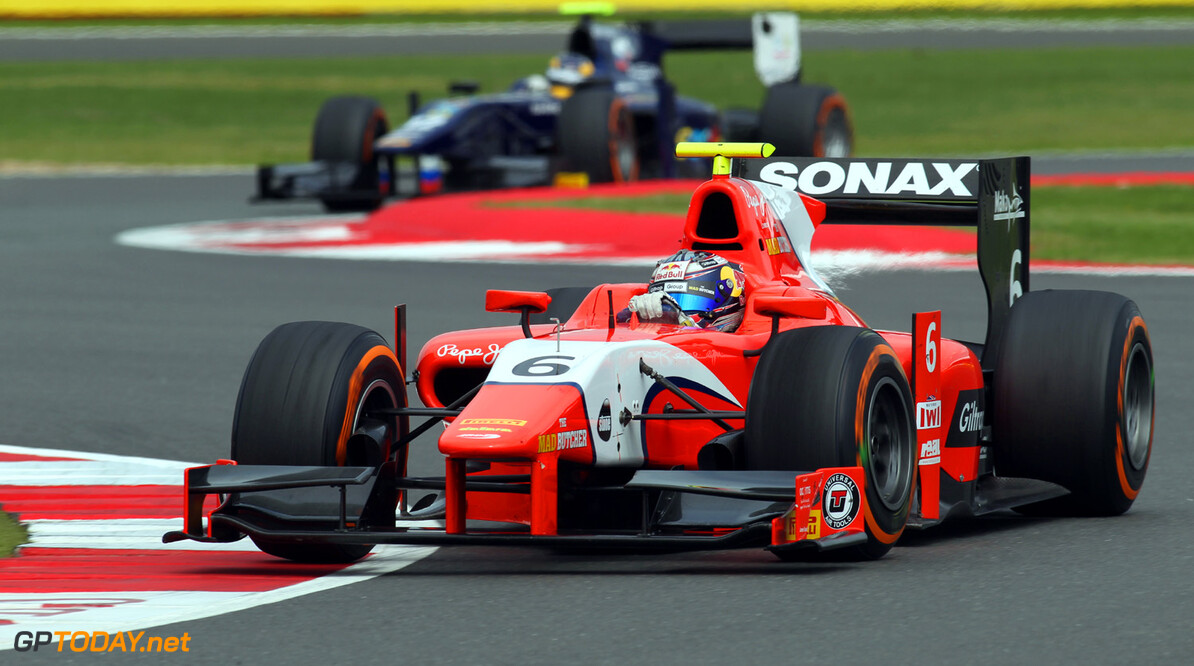 2013 GP2 Series. Round 5. Silverstone, Northamptonshire, England. 29th June. Saturday Race. Mitch Evans (NZL, Arden International). Action.  World Copyright: Malcolm Griffiths/GP2 Series Media Service. Ref: C76D0689