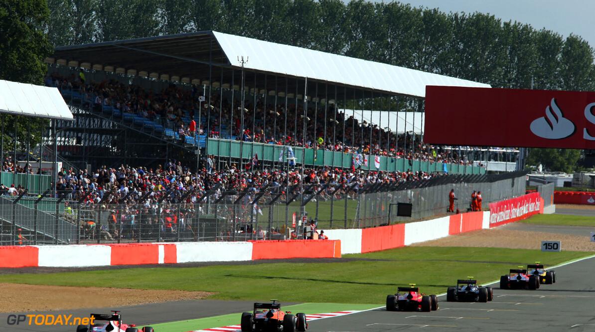 2013 GP2 Series. Round 5. Silverstone, Northamptonshire, England. 30th June. Sunday Race. Race action.  World Copyright: Jakob Ebrey/GP2 Series Media Service. Ref: AD8T6745  Jakob Ebrey