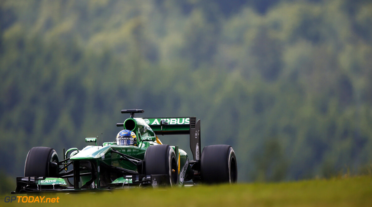 Caterham has no regrets over inexperienced lineup