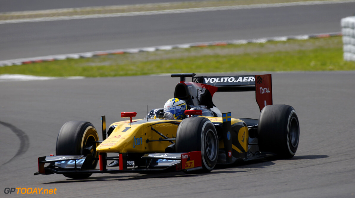 2013 GP3 Series. Round 6.  Nurburgring, Germany.  6th July 2013.  Saturday Race. Marcus Ericsson (SWE, Dams). Action.  World Copyright: Glenn Dunbar/GP2 Series Media Service. Ref: _89P8491