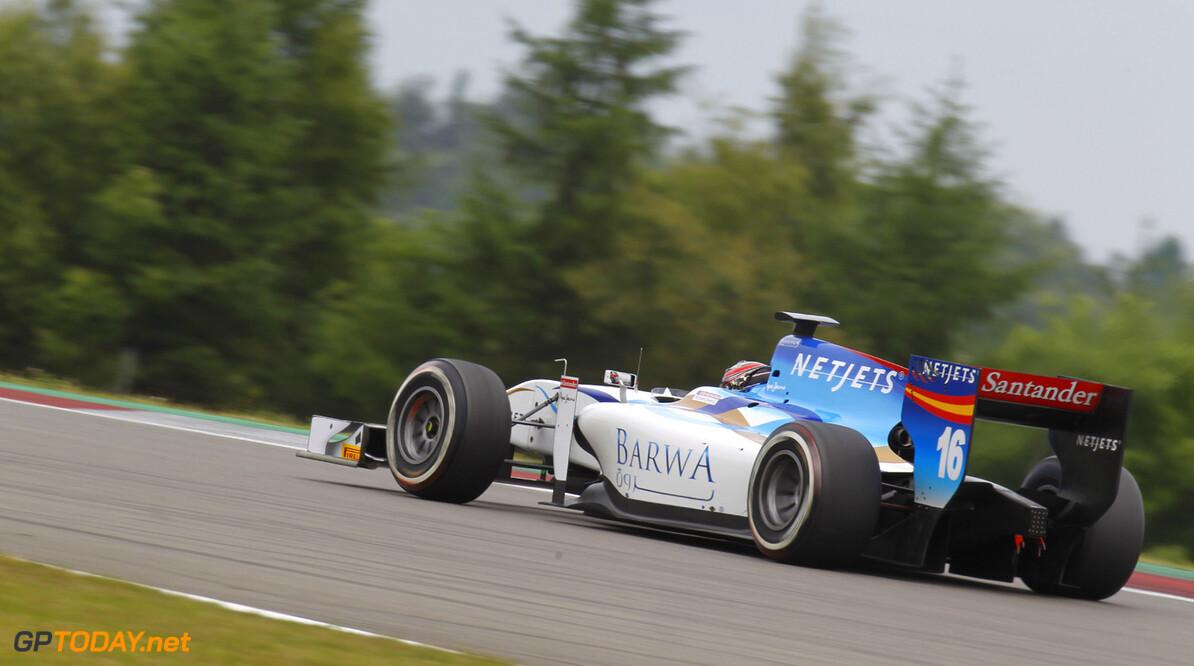 2013 GP2 Series. Round 6. Nurburgring, Germany. 5th July 2013.  Friday Practice.  Jake Rosenzweig (USA, Barwa Addax Team). Action.  World Copyright: Alastair Staley/GP2 Series Media Service. Ref: _A8C5850