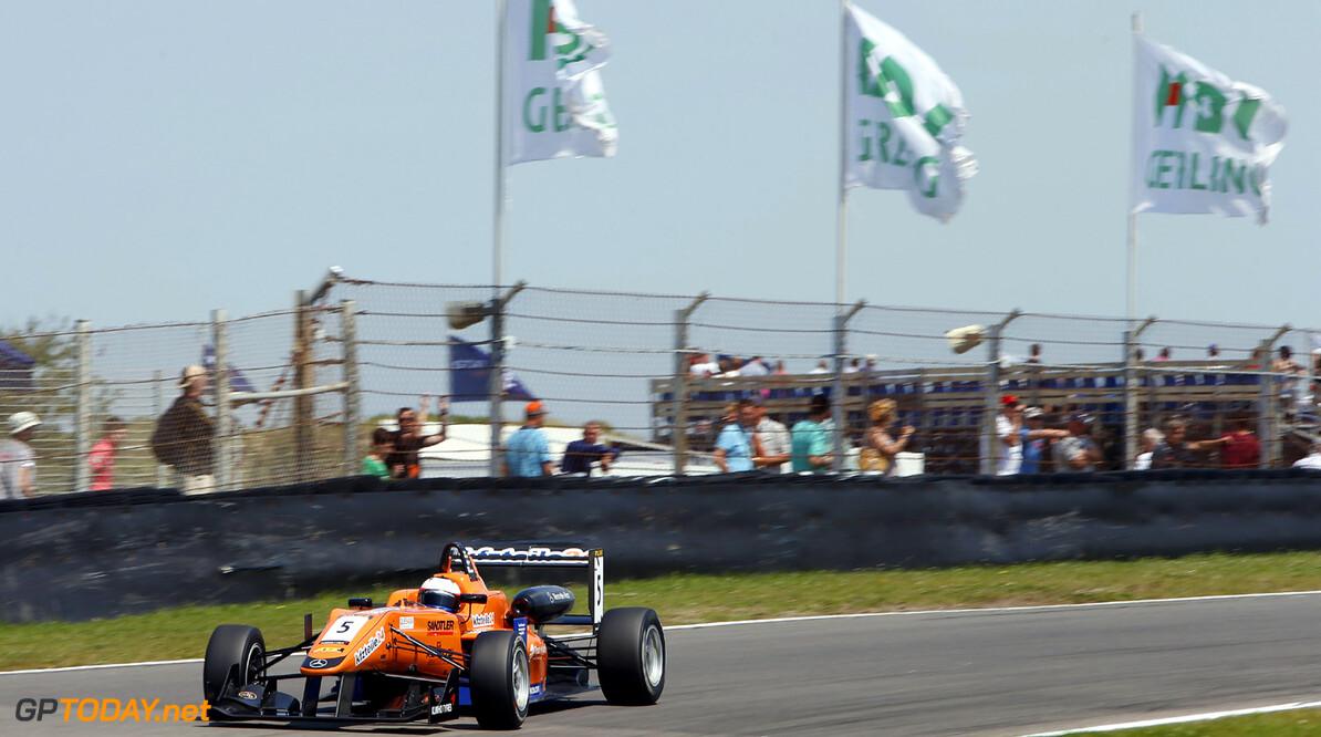 Masters of Formula 3, Zandvoort (NL) 5 Felix Rosenqvist (S, kfzteile24 Muecke Motorsport, Dallara F312 Mercedes), Masters of Formula 3, Zandvoort (NL) - 5.-7. July 2013 *** Local Caption *** Copyright (c) FIA Formula 3 European Championship / Thomas Suer RTL GP Masters of Formula 3, Zandvoort (NL) Thomas Suer Zandvoort Netherlands