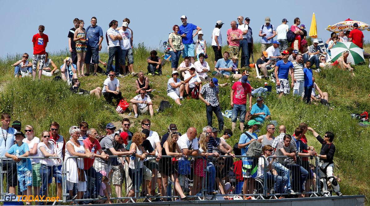 Masters of Formula 3, Zandvoort (NL) Fans, Masters of Formula 3, Zandvoort (NL) - 5.-7. July 2013 *** Local Caption *** Copyright (c) FIA Formula 3 European Championship / Thomas Suer RTL GP Masters of Formula 3, Zandvoort (NL) Thomas Suer Zandvoort Netherlands