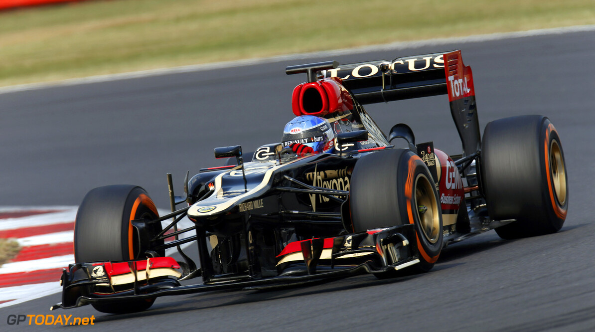 2013 F1 Young Driver Test - Day 1 Silverstone, UK