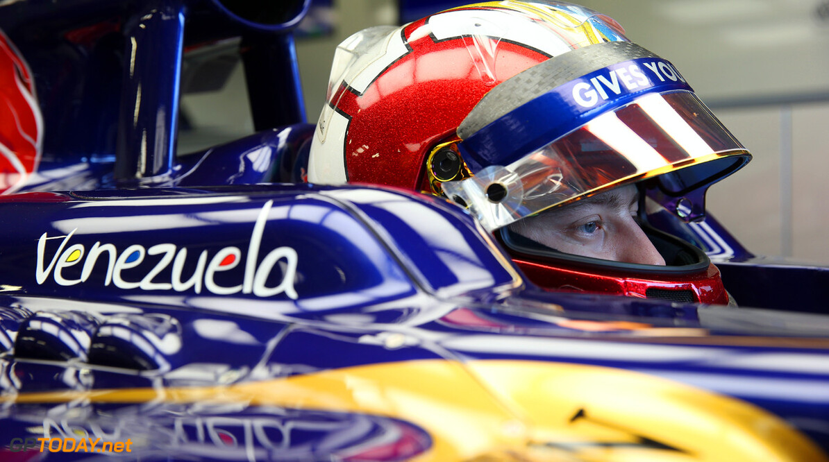 173464520MT00023_F1_Young_D NORTHAMPTON, ENGLAND - JULY 17: Johnny Cecotto of Venezuela prepares to test the Torro Rosso Formula 1 car at Silverstone Circuit on July 17, 2013 in Northampton, England.  (Photo by Mark Thompson/Getty Images) F1 Young Driver Tests - Silverstone Mark Thompson Northampton United Kingdom  Formula One Racing