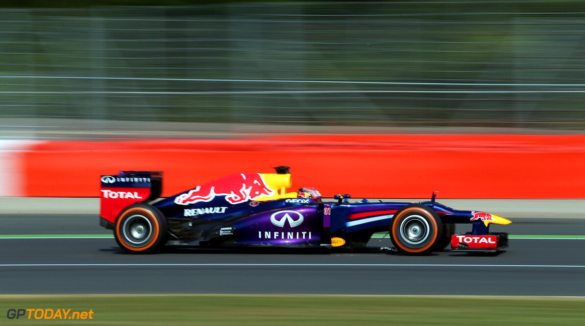 173464520MT00076_F1_Young_D NORTHAMPTON, ENGLAND - JULY 17:  Antonio Felix Da Costa of Portugal testing in the Red Bull RB9  at Silverstone Circuit on July 17, 2013 in Northampton, England.  (Photo by Mark Thompson/Getty Images) F1 Young Driver Tests - Silverstone Mark Thompson Northampton United Kingdom  Formula One Racing