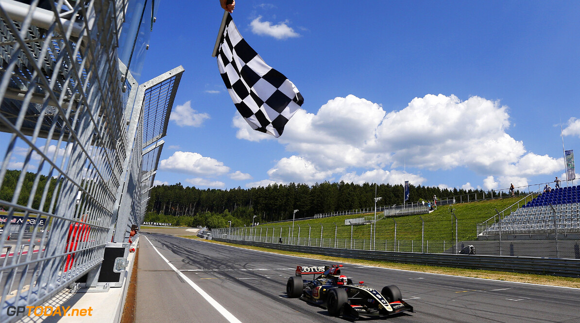 MOTORSPORT - WORLD SERIES BY RENAULT 2013 -  RED BULL RING - SPIELBERG (AUT) - 19/07/2013 - PHOTO GREGORY LENORMAND / DPPI - 09 SORENSEN MARCO (DEN) - LOTUS - FORMULE RENAULT 3.5 - ACTION FINISH AUTO - WORLD SERIES BY RENAULT RED BULL RING GREGORY LENORMAND SPIELBERG AUSTRIA  2013 FORMULE FORMULA RENAULT WORLD SERIES BY RENAULT WSR WSBR CIRCUIT INTERNATIONAL