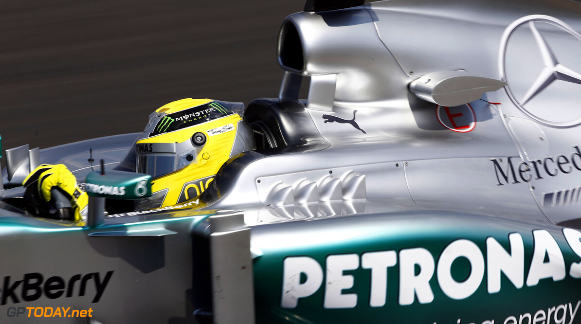 "Rosberg: ""Difficult decision to stop 2013 development"""