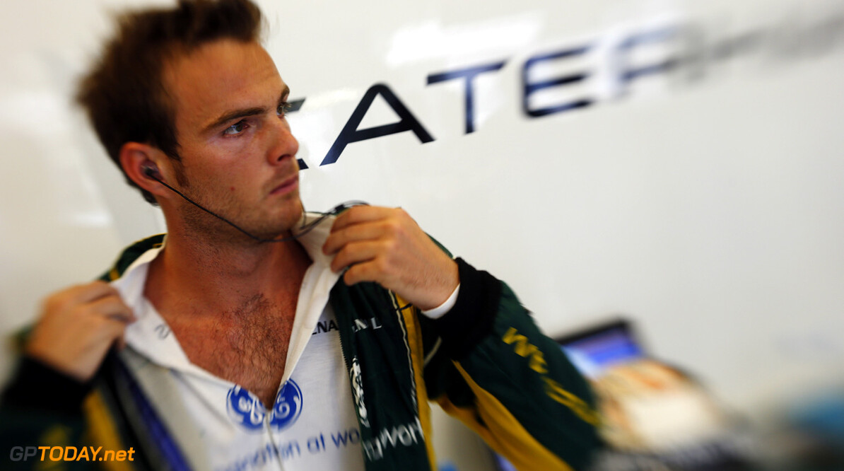 Van der Garde leaves negotiations to his management