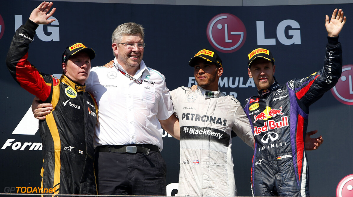 Lewis Hamilton discusses Ross Brawn Mercedes departure