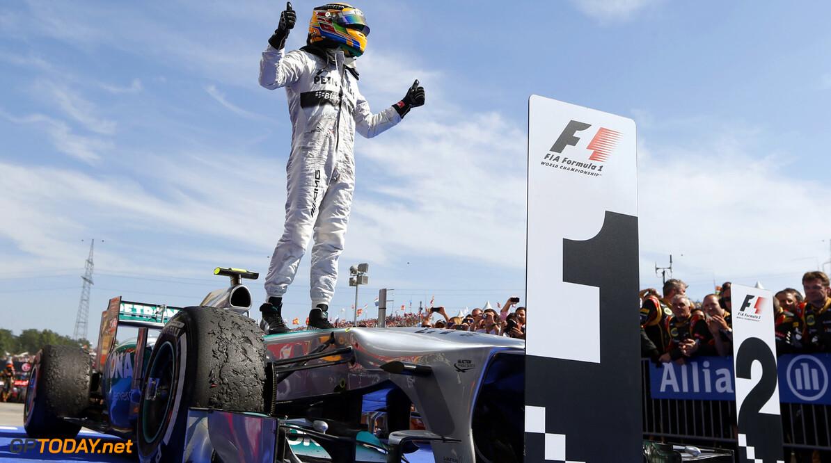 Lewis Hamilton op jacht naar record in Hongarije