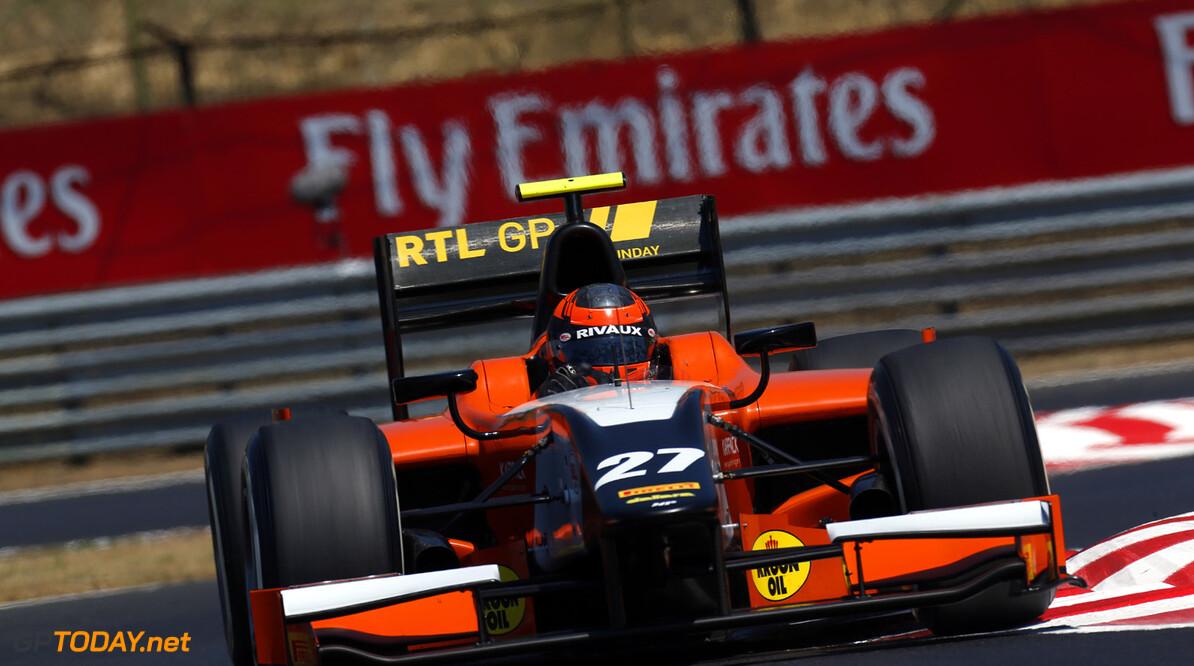 2013 GP2 Series. Round 7.  Hungaroring, Budapest, Hungary. 26th July 2013.  Friday Practice. Daniel de Jong (NED, MP Motorsport). Action.  World Copyright: Alastair Staley/GP2 Media Service  Ref: _R6T1541