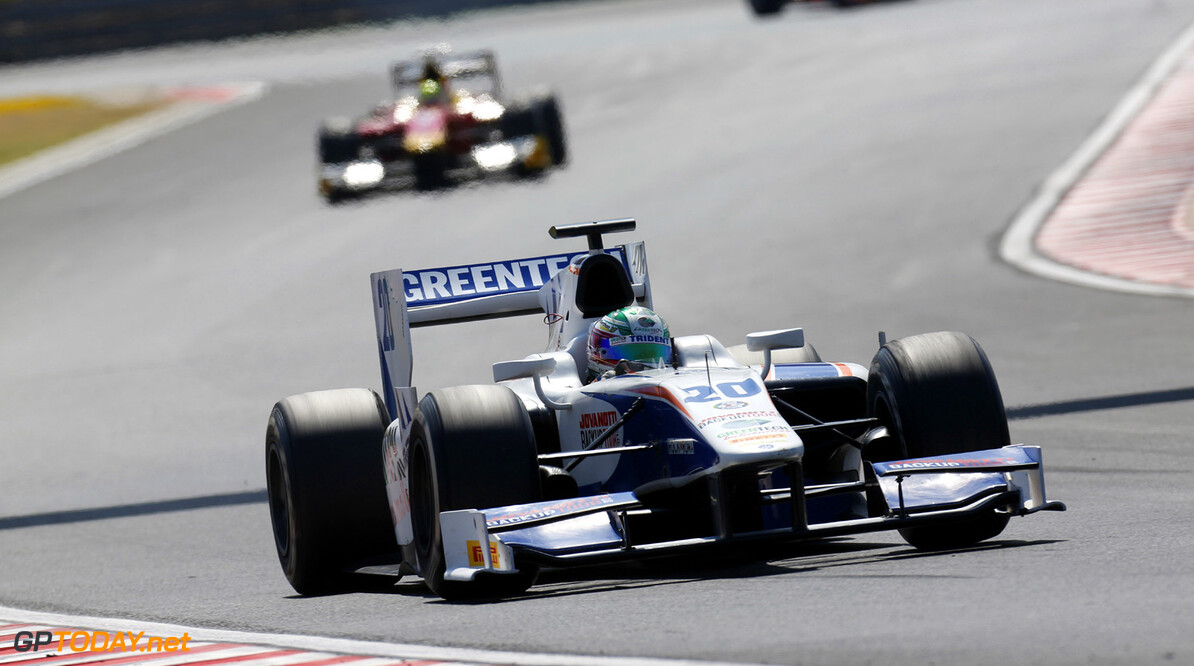 2013 GP2 Series. Round 7.  Hungaroring, Budapest, Hungary. 28th July 2013.  Sunday Race. Nathanael Berthon (FRA, Trident Racing). Action.  World Copyright: Alastair Staley/GP2 Media Service  Ref: _R6T6780