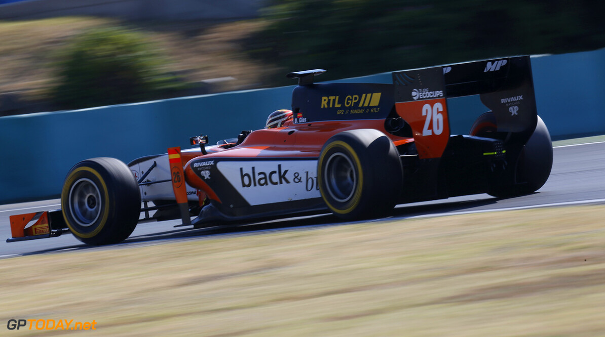 2013 GP2 Series. Round 7.  Hungaroring, Budapest, Hungary. 26th July 2013.  Friday Qualifying. Dani Clos (ESP, MP Motorsport). Action.  World Copyright: Alastair Staley/GP2 Media Service  Ref: _R6T2382
