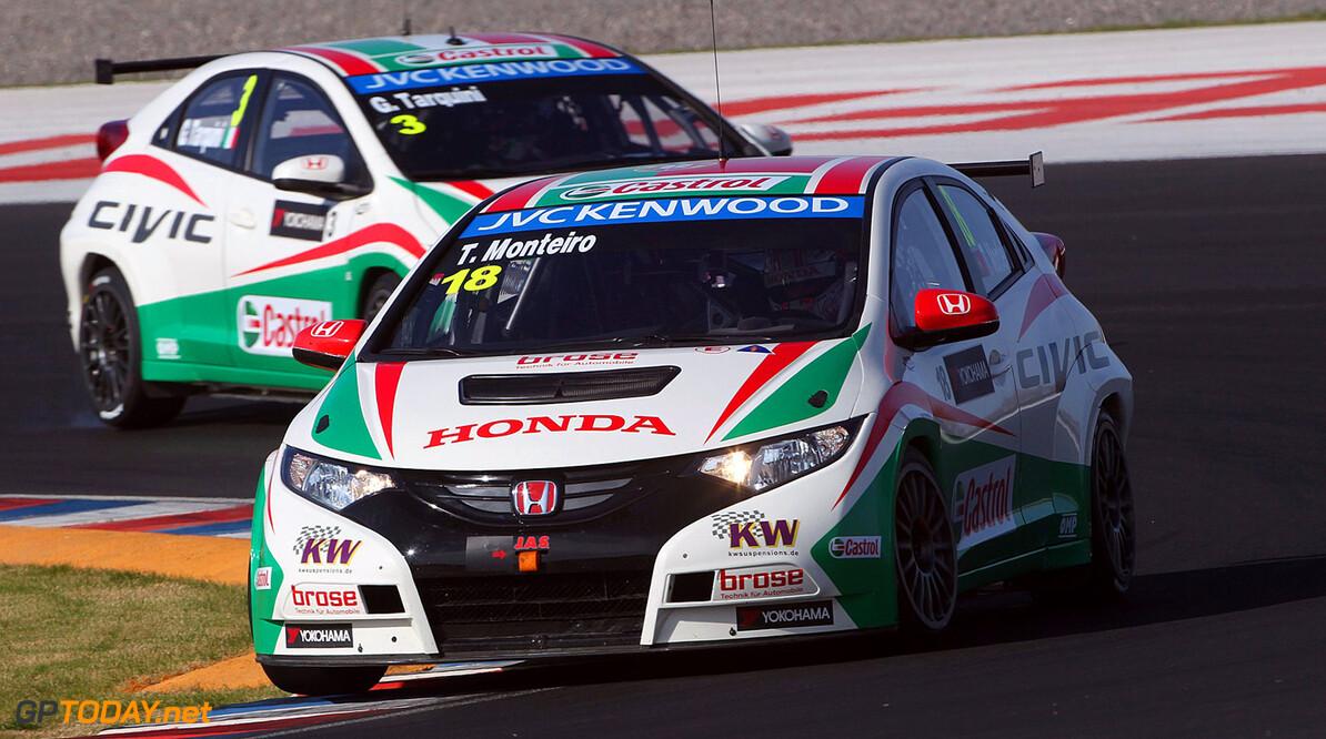 Honda confirms Tarquini and Monteiro for 2014