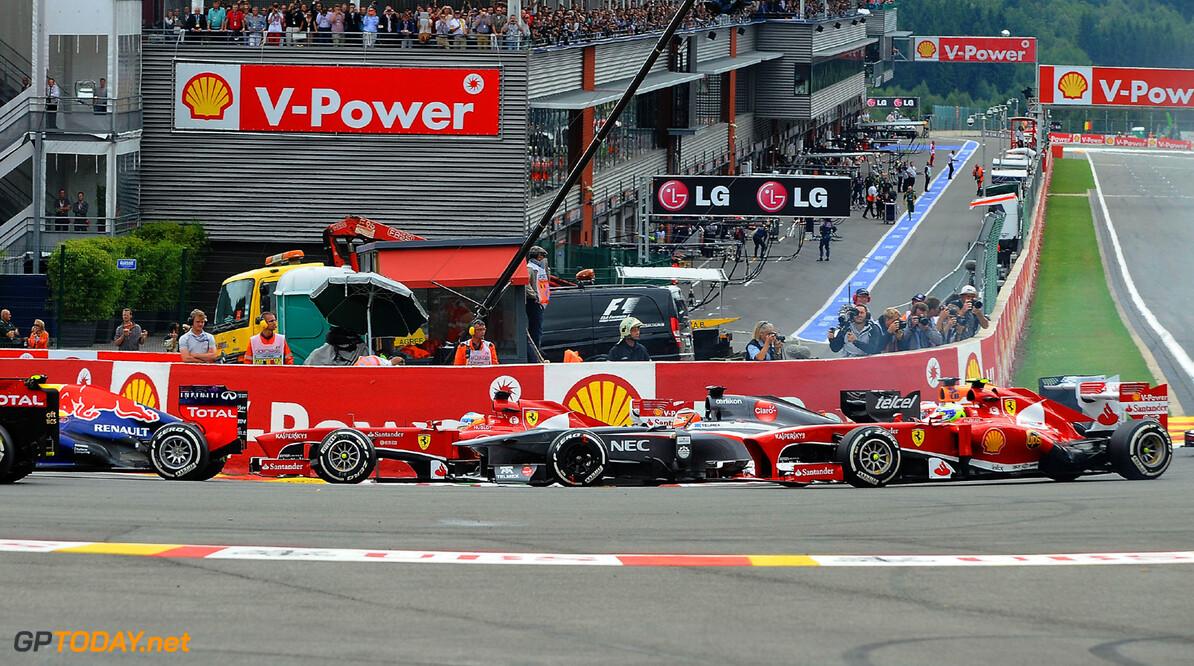 GP BELGIO F1/2013  SPA FRANCORCHAMPS (BELGIO) 25/08/2013 (C) FOTO STUDIO COLOMBO X FERRARI GP BELGIO F1/2013  (C) FOTO STUDIO COLOMBO SPA FRANCORCHAMPS  BELGIO