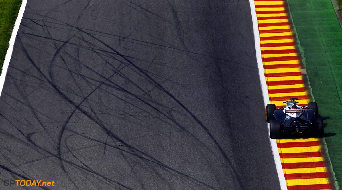 2013 Belgian Grand Prix - Friday Spa-Francorchamps, Spa, Belgium. 23rd August 2013. Pastor Maldonado, Williams FW35 Renault. Photo: Andrew Ferraro/Williams F1. ref: Digital Image _Q0C1972.      formula 1 formula one f1 gp bel spa francorchamps belgium aug Action
