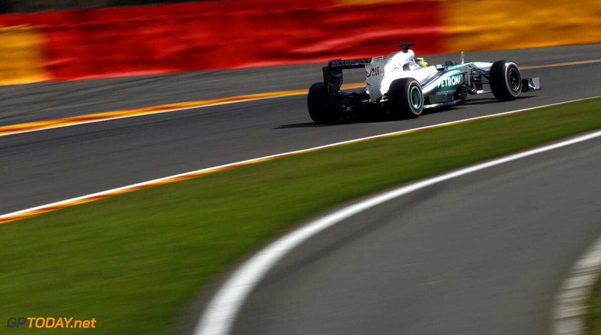 Mercedes miste in België de scherpte van eerdere races