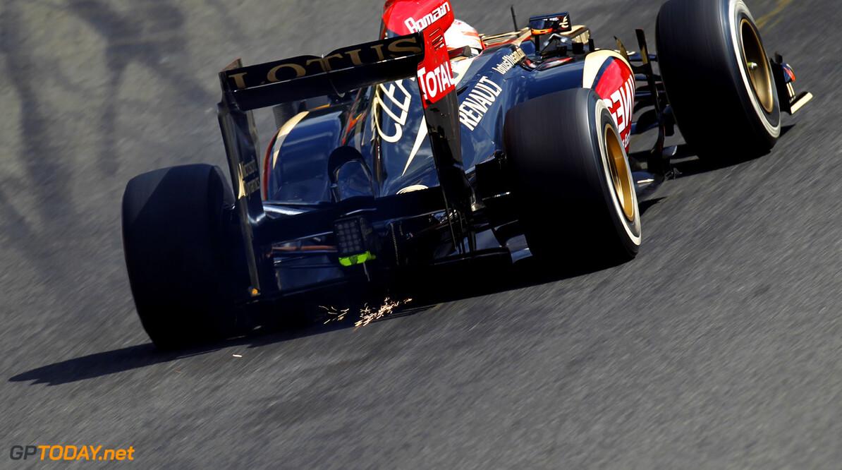 Lotus way behind rivals in simulator testing for 2014