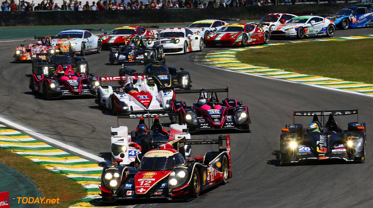 WEC past kalender voor 2014 aan Formule 1-schema aan