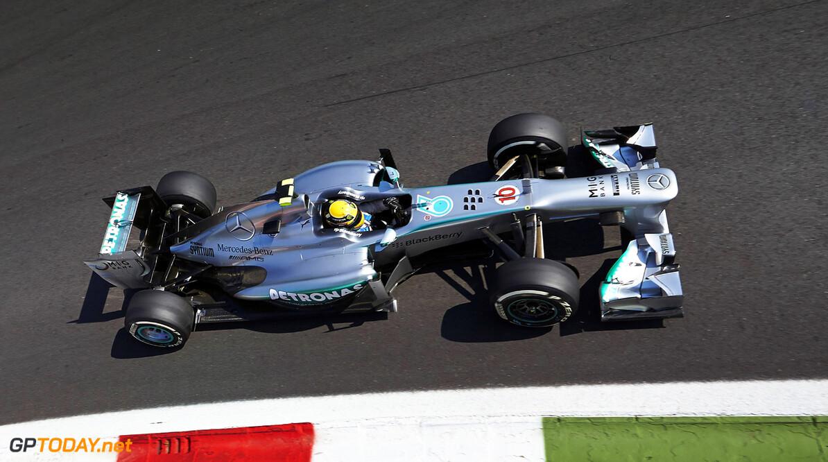 Mercedes in een positie om Red Bull Racing aan te vallen
