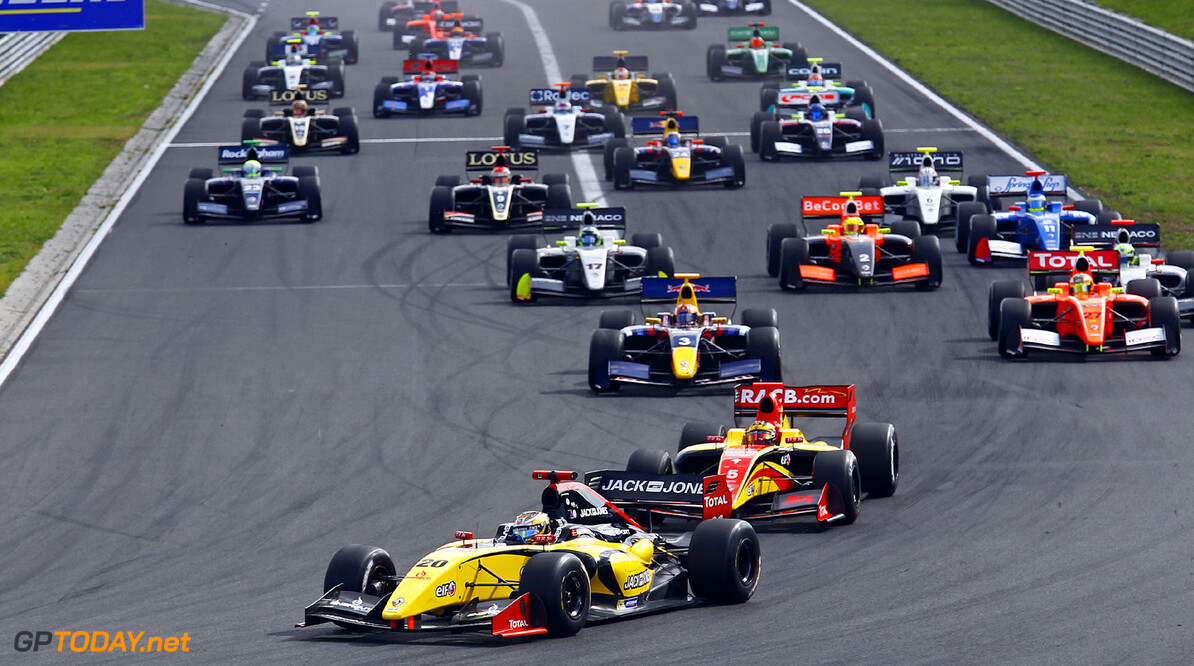 MOTORSPORT -  WORLD SERIES BY RENAULT 2013  - HUNGARORING - BUDAPEST (HON) - 15/09/2013 - PHOTO GREGORY LENORMAND / DPPI - 20 MAGNUSSEN KEVIN (DEN) - DAMS - FORMULE RENAULT 3.5 - ACTION