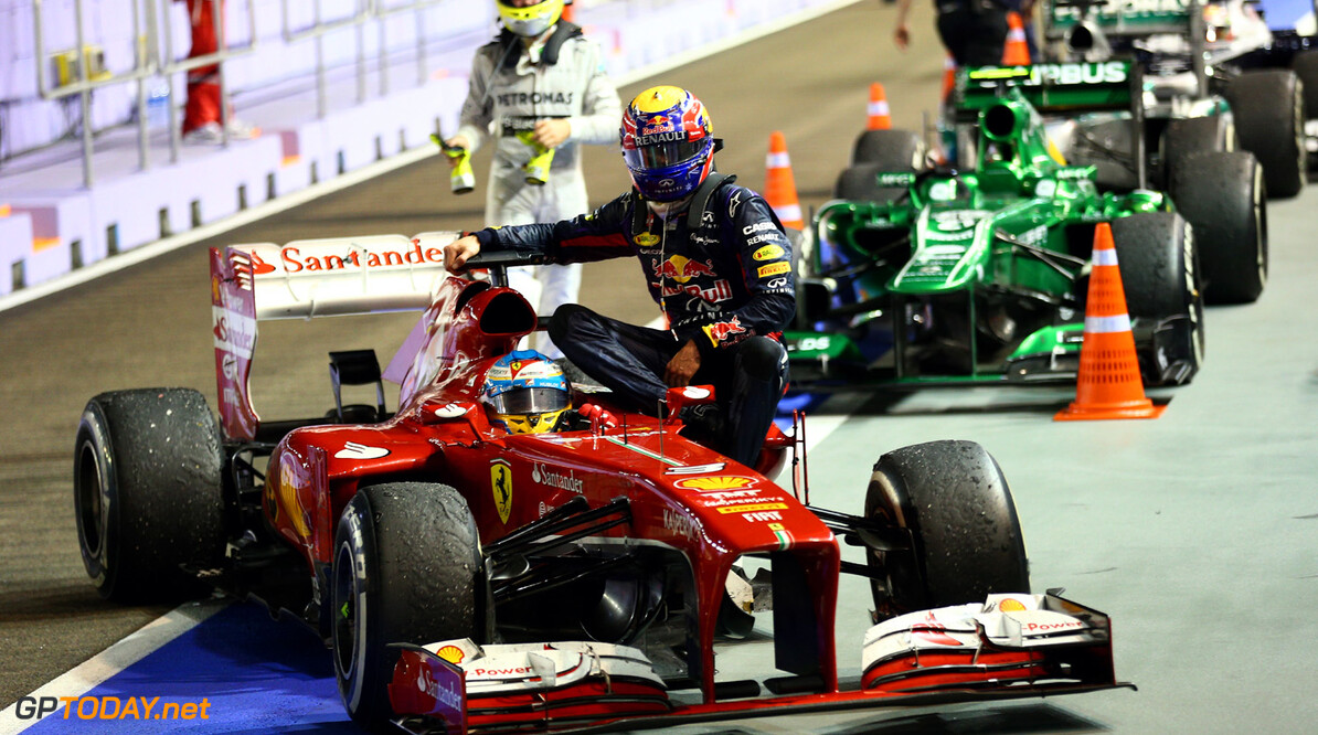 Ferrari sent Webber invoice for Singapore 'taxi ride'