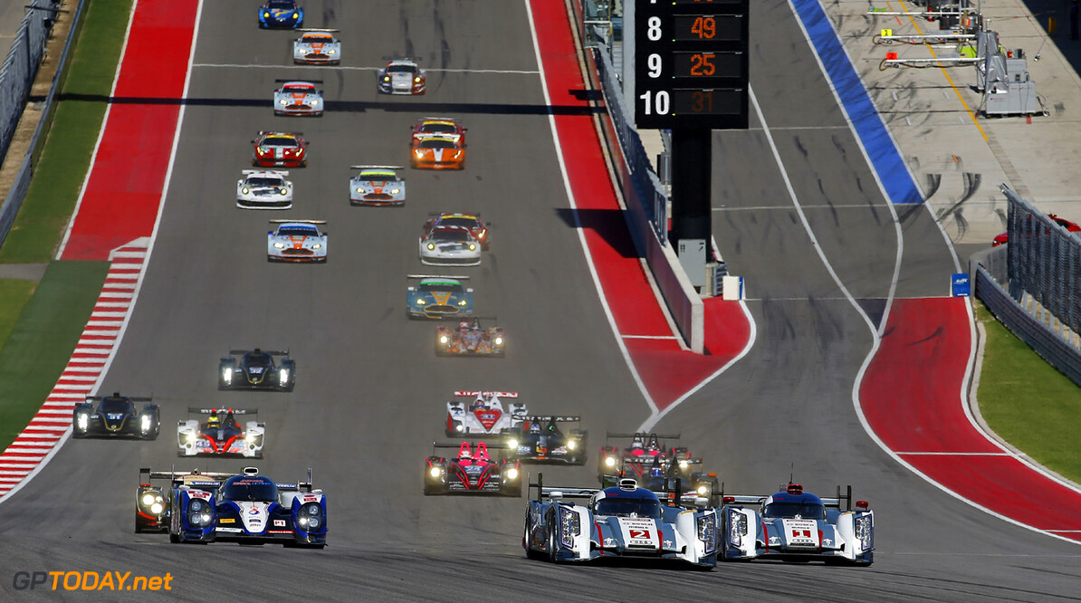 MOTORSPORT - WORLD ENDURANCE CHAMPIONSHIP 2013 - 6 HOURS OF AUSTIN / 6 HEURES D'AUSTIN - TEXAS (USA) - 19 TO 22/09/2013 - PHOTO  JEAN MICHEL LE MEUR / DPPI - START / ACTION AUTO - WEC 6 HOURS OF AUSTIN 2013 JEAN MICHEL LE MEUR AUSTIN UNITED STATES OF AMERICA  6H Auto Car ELMS ENDURANCE ilmc LE MANS MOTORSPORTS series Sport WEC ETATS UNIS OVERSEAS AMERIQUE