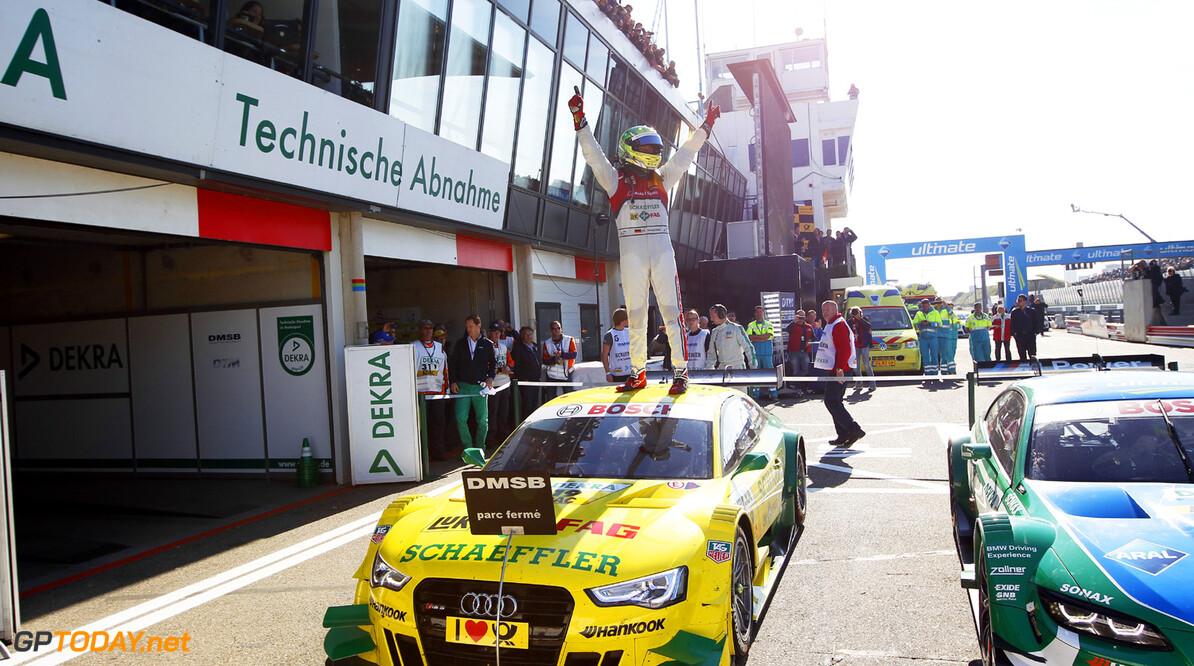 19 Mike Rockenfeller (D), Audi Sport Team Phoenix, Audi RS 5 DTM, 23 Timo Scheider (D), Audi Sport Team Abt, Audi RS 5 DTM