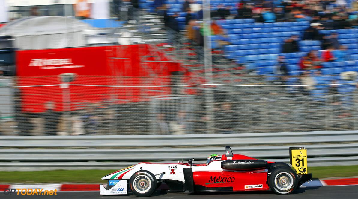 FIA Formula 3 European Championship, round 8, race 3, Zandvoort  31 Alfonso Celis (MEX, Fortec Motorsports, Dallara F312 Mercedes), FIA Formula 3 European Championship, round 8, race 3, Zandvoort (NL) - 27. - 29. September 2013 FIA Formula 3 European Championship, round 8, race 3, Zandvoort (NL) Thomas Suer Zandvoort Netherlands