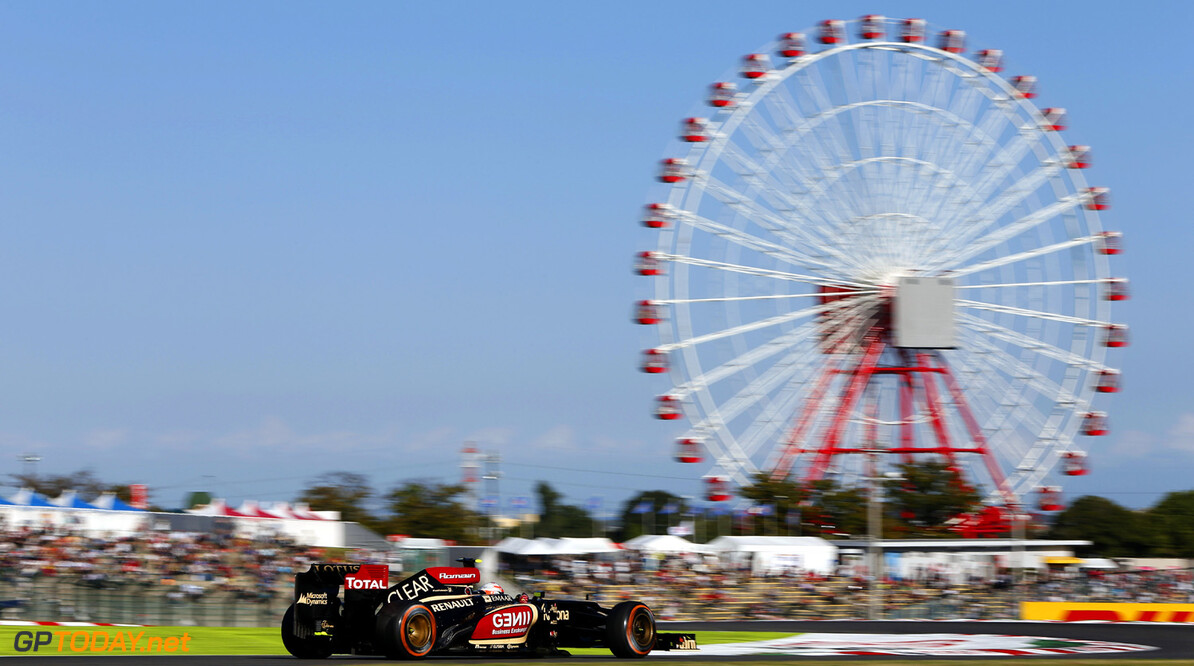 2013 Japanese Grand Prix - Friday Suzuka Circuit, Suzuka, Japan. 