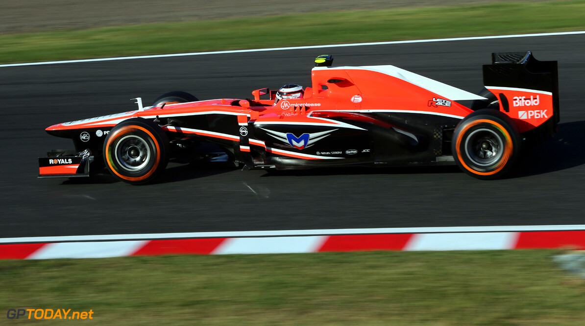 Max Chilton (GBR) Marussia F1 Team MR02.