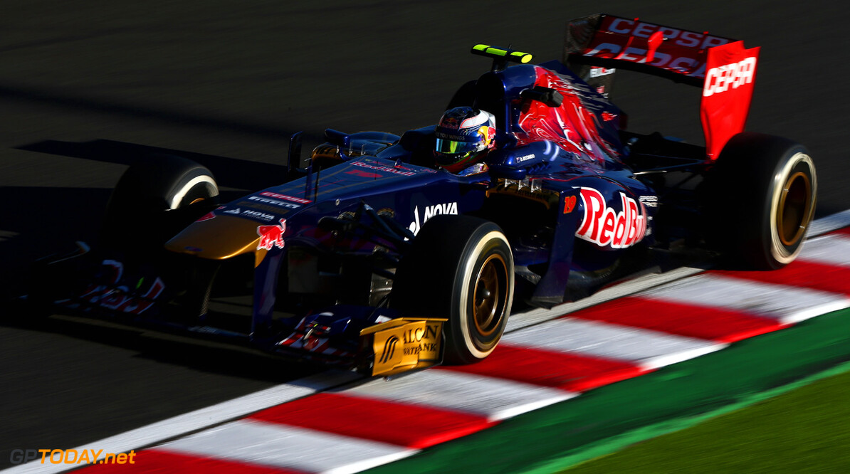 166988151KR00245_F1_Grand_P SUZUKA, JAPAN - OCTOBER 11:  Daniel Ricciardo of Australia and Scuderia Toro Rosso drives during practice for the Japanese Formula One Grand Prix at Suzuka Circuit on October 11, 2013 in Suzuka, Japan.  (Photo by Clive Mason/Getty Images,) *** Local Caption *** Daniel Ricciardo F1 Grand Prix of Japan - Practice Clive Mason Suzuka Japan