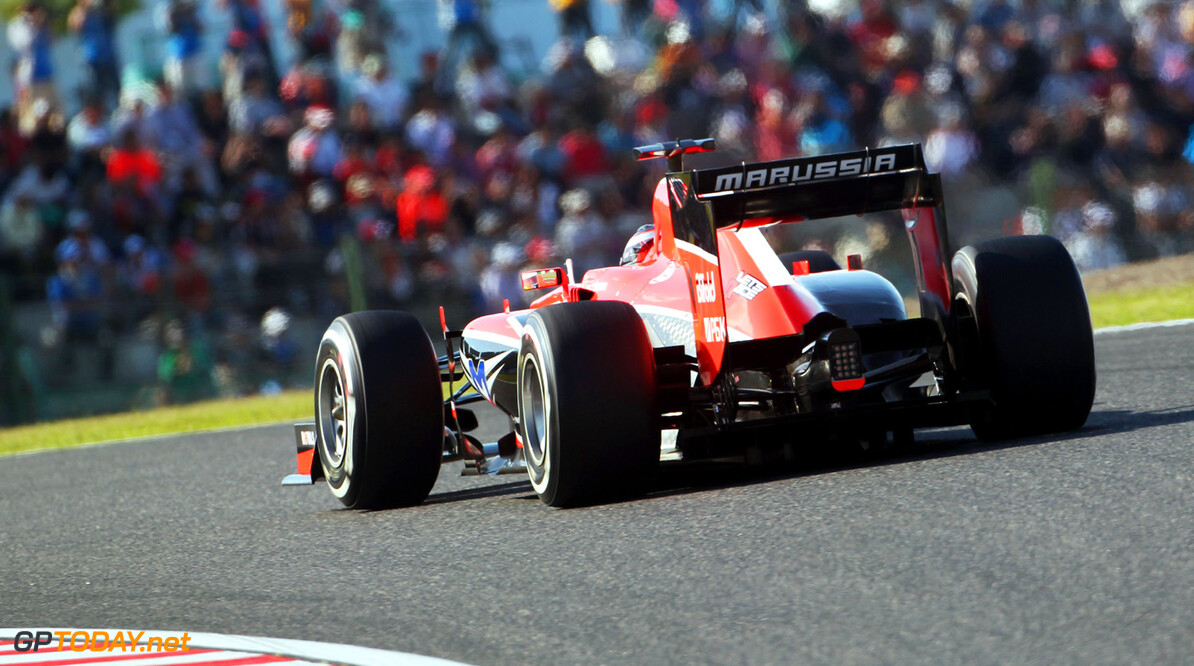 Jules Bianchi (FRA) Marussia F1 Team MR02.