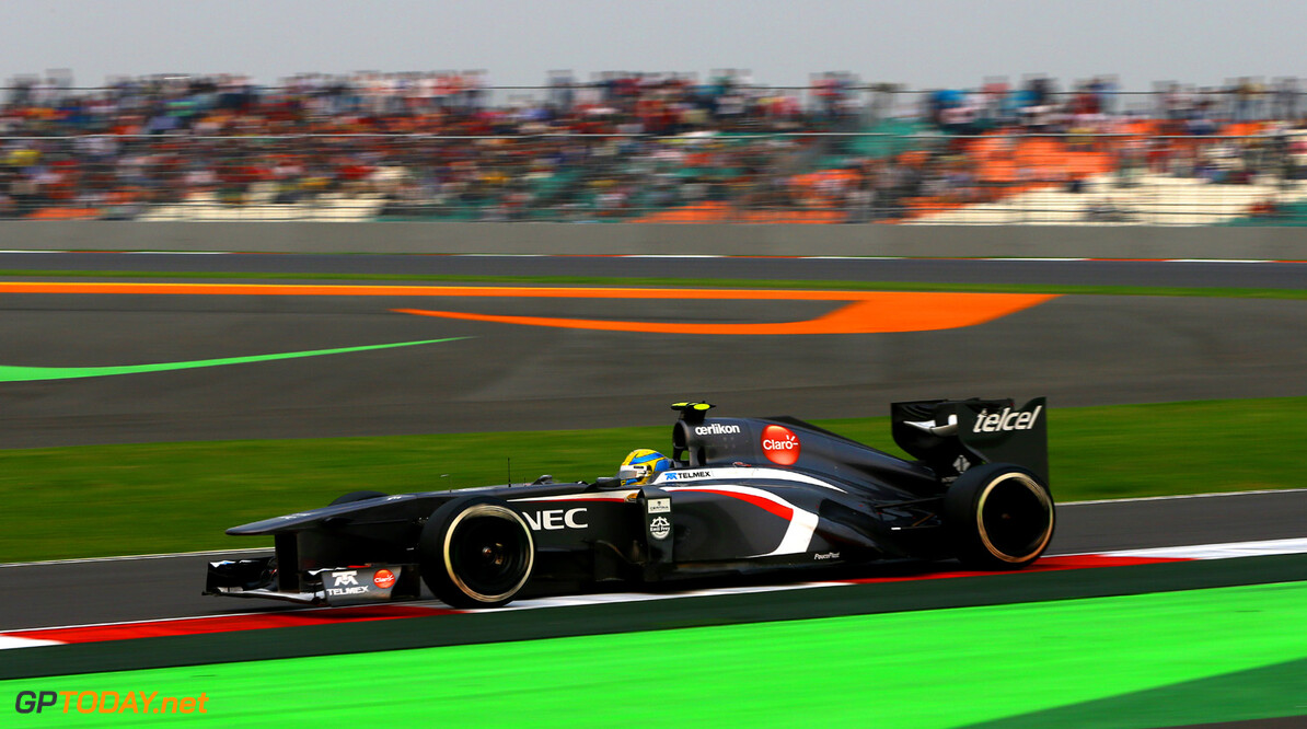 Indian GP Race 27/10/13  Indian GP Race 27/10/13 Jean-Francois Galeron New Delhi Japan  F1 Formula One 2013
